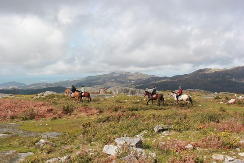 gondomar ruta caballo
