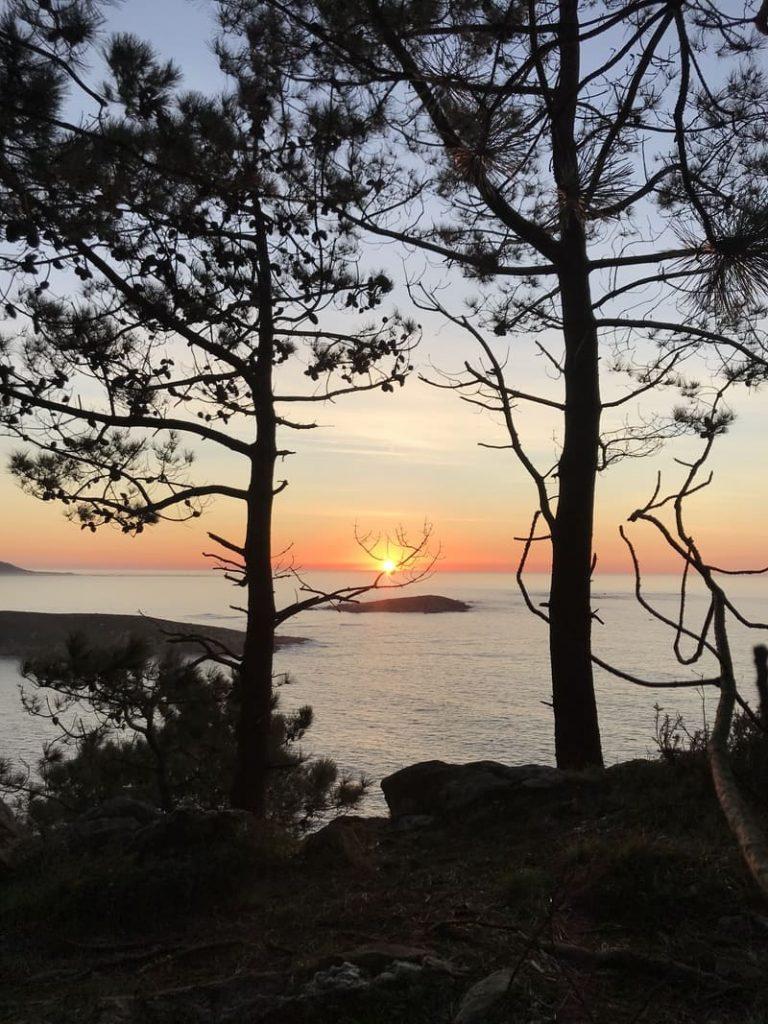 puesta de sol monteferro