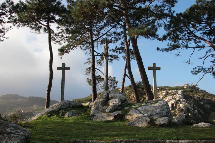 Via Crucis virgen de la roca baiona