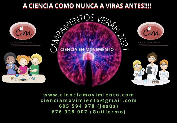 Campamento de ciencia en Nigrán, Baiona y Gondomar