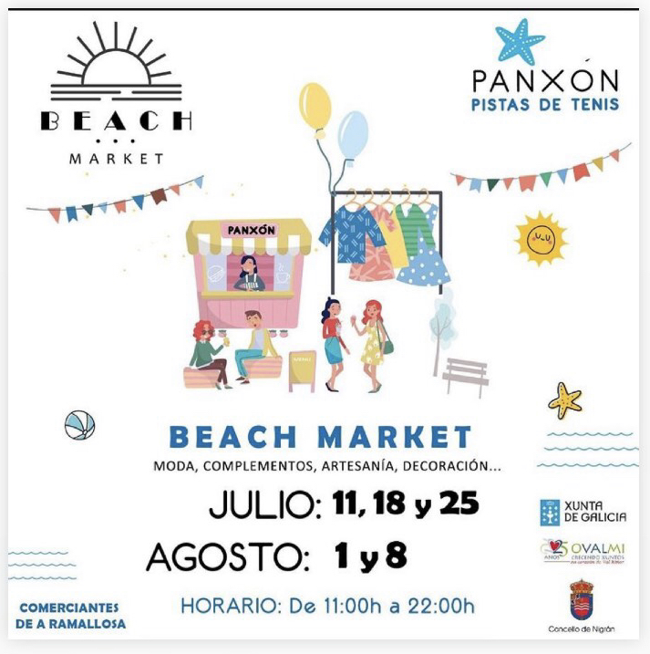 Beach Market en Panxón