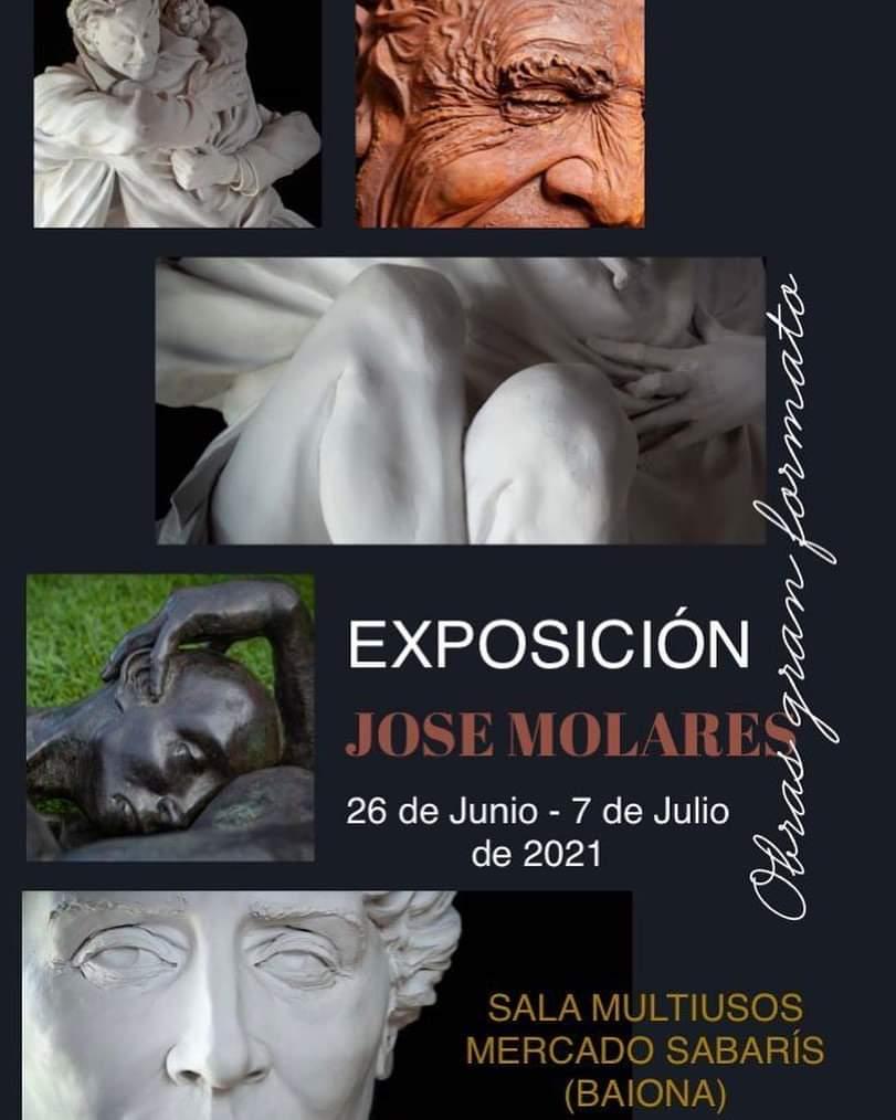 Exposición de escultura de Jose Molares