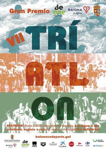 triatlón solidario Vila Baiona
