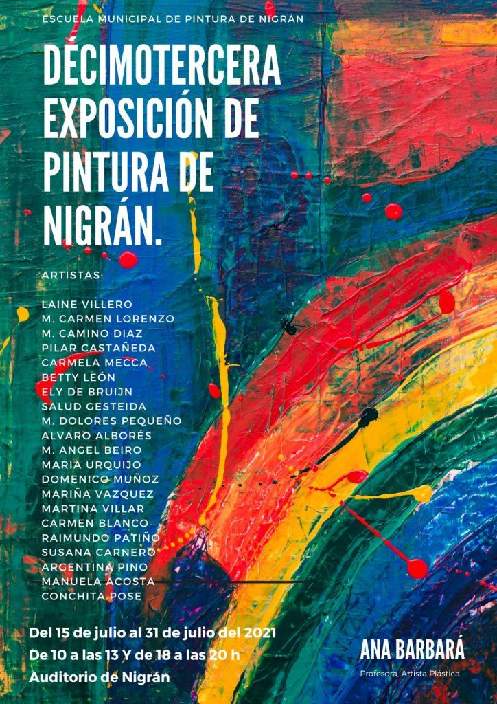 Exposición de pintura de nigrán