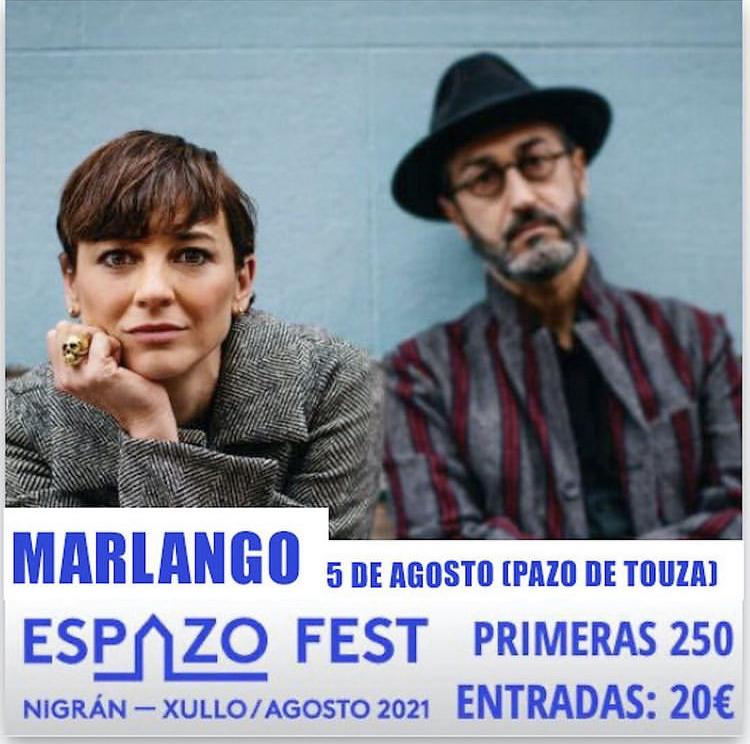 Espazo Fest. Concierto de Marlango en el Pazo da Touza (Nigrán)
