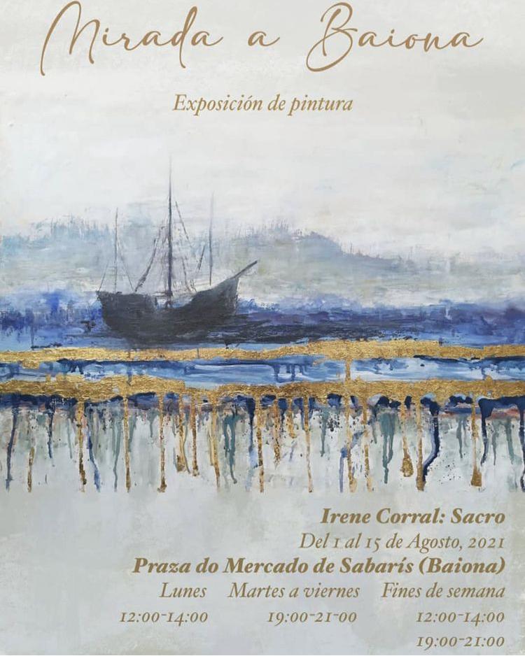 Exposición Mirada a Baiona de Irene Corrales