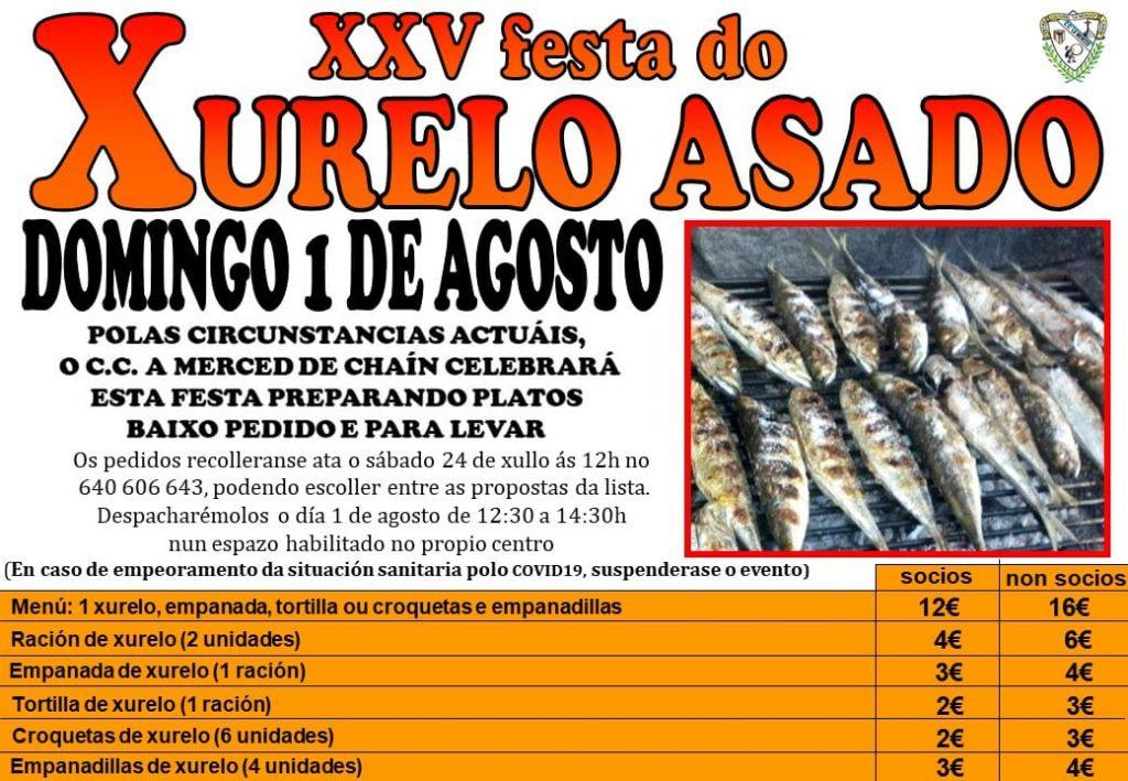 Festa do Xurelo Asado en Chaín (Gondomar)