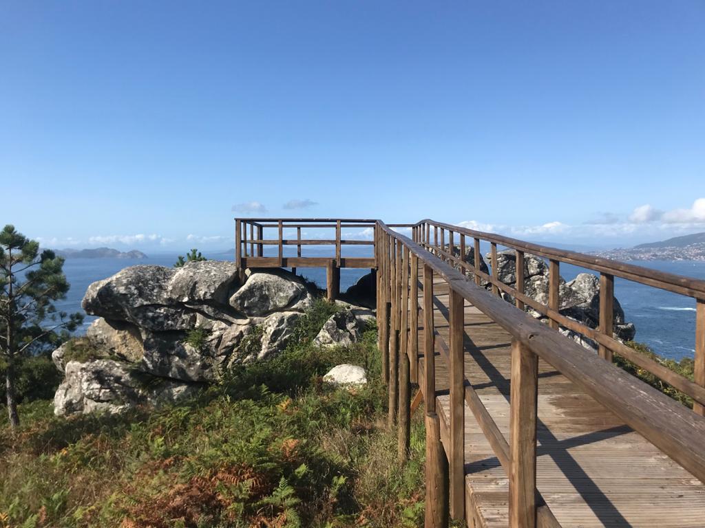 Mirador Cabo Silleiro (Baiona)