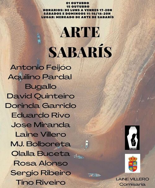 Exposición de arte en Sabarís