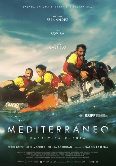 Cine en Nigrán en el Cine Imperial Ramallosa. Película: Mediterraneo