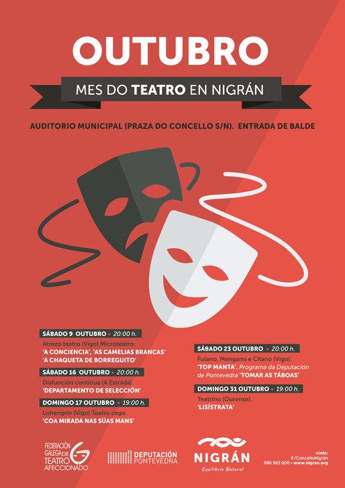 Mes del teatro en Nigrán 2021